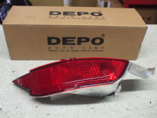 FORD FIESTA MK 9   FOG LIGHT REAR  O/S   DRIVERS SIDE  TITANIUM PETROL   NEW  NEW  ( 09  59  10 61 62  REG )